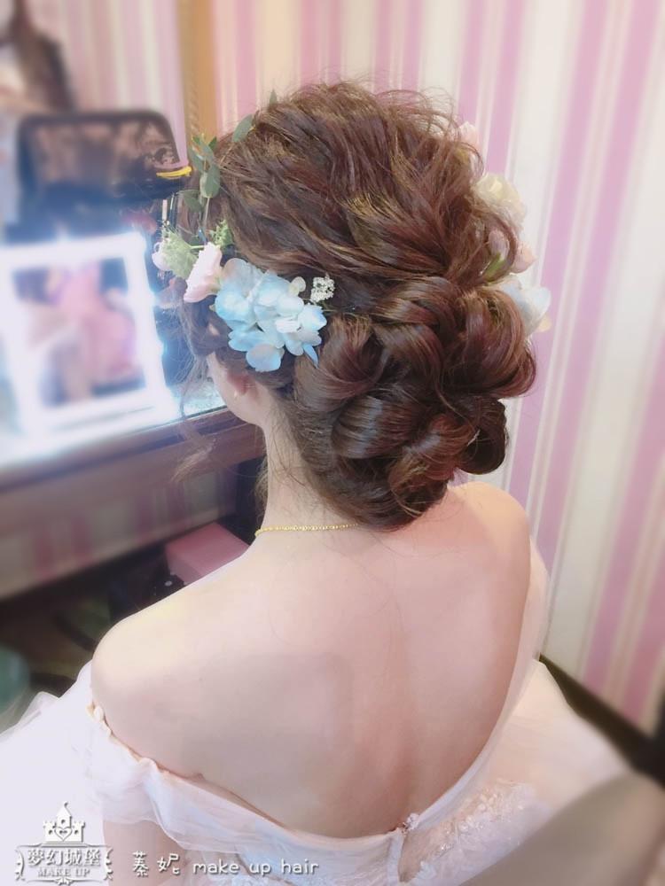 【新秘蓁妮】bride姿婷 宴客造型 / 台中展華婚宴會館