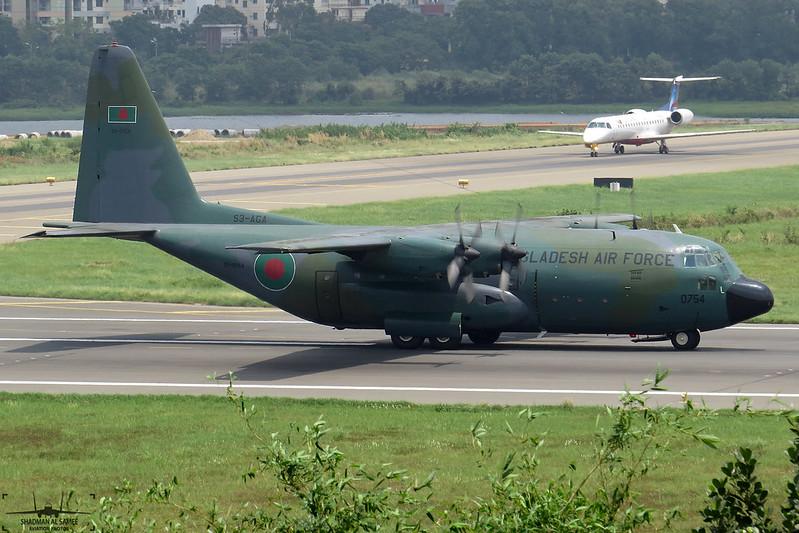 S3-AGA: Bangladesh Air Force C-130B Hercules.