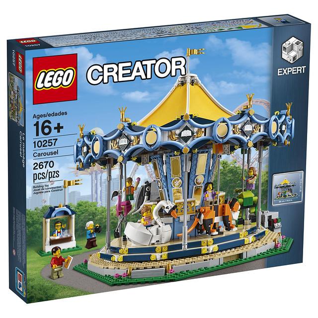 Lego Creator 10257 Carousel 1
