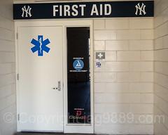First Aid Station at Yankee Stadium, The Bronx, New York City
