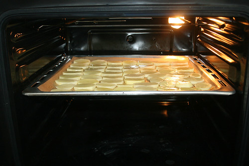 22 - Kartoffeln vorbacken / Pre-bake potato slices