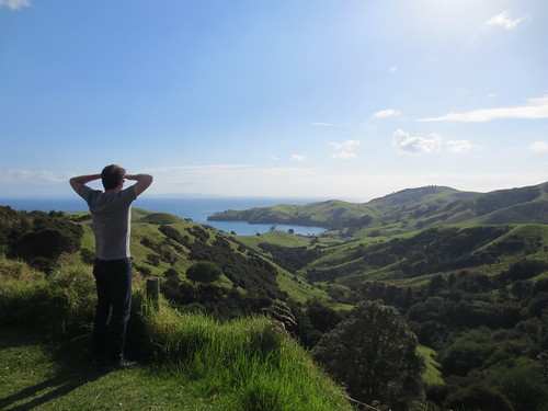 Looking out from Coromandel Peninsula