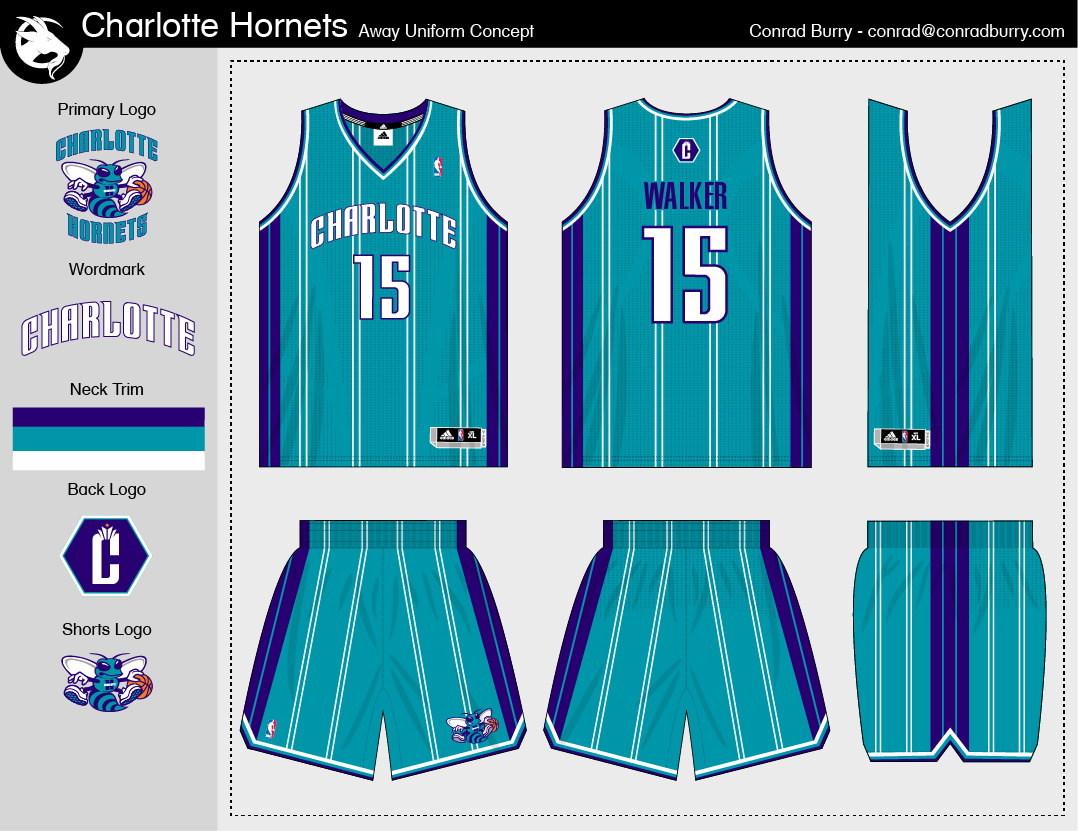 size 40 88aa6 283a2 Uni Watch judges readers' Charlotte Hornets redesign efforts