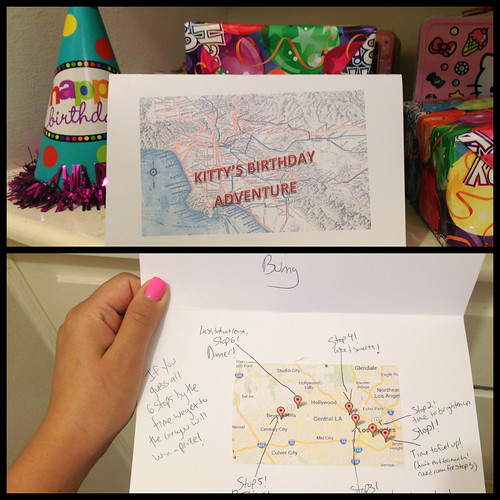 Birthday Surprise Itinerary