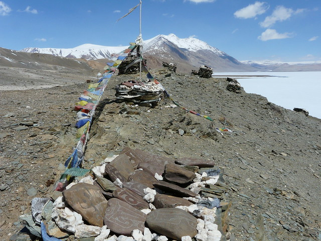 Prayer flags send their blessings to the heavens