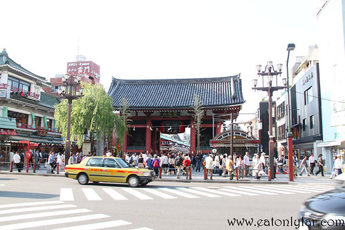 Kaminarimon, Asakusa, Japan