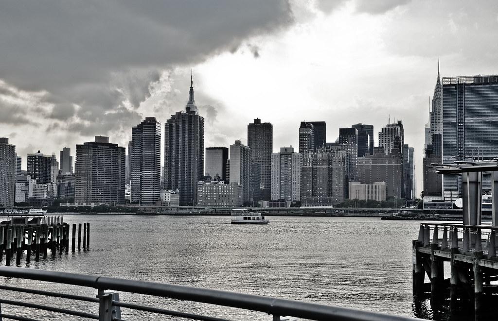 New York City Skyline, taken fron Gantry State Park, Queens, NYC