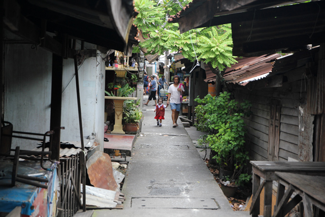 Neighborhood around Baan Silapin (บ้านศิลปิน)