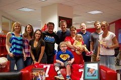 Team PSE with Super Cade and the Spinello Family. All of us are Team NEGU