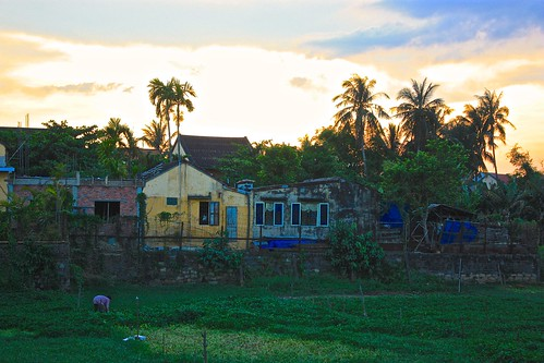 This garden in Hoi An makes for a lush picture