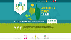 Londres: Beautiful South, degustación en conjunto de vinos de Argentina, Chile y Sudáfrica