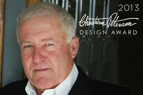 Alumnus James Patchett received the 2013 Christian Petersen Design Award