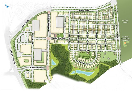 Crown Site Plan (Phase 1)