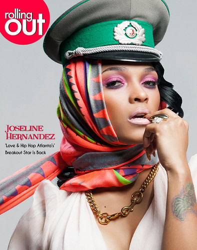 Joseline Hernandez Rolling Out Magazine Photo Spread