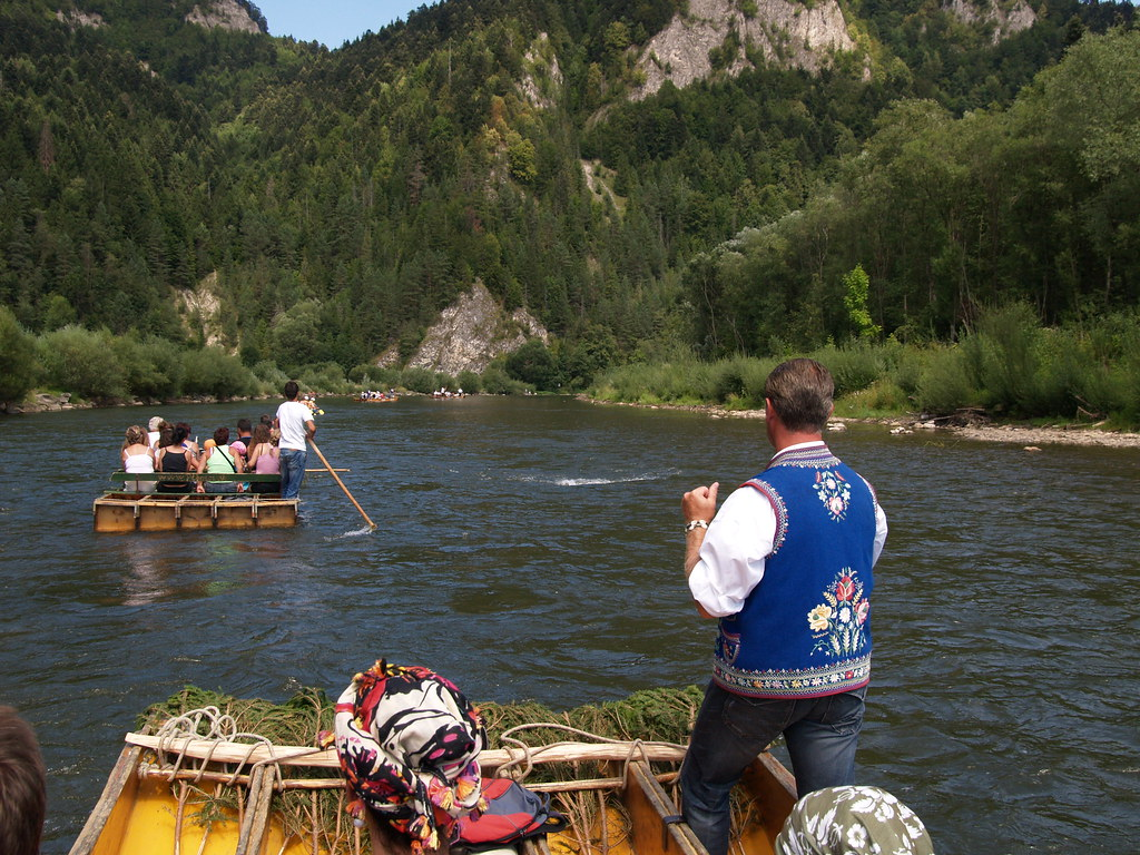 Dunajec river rafting