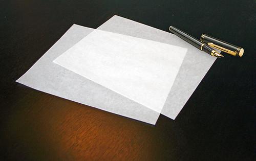 onion skin paper