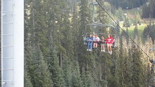Sunrise Ski Lift - Cousins