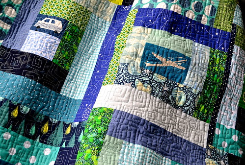 Planes, Cars and Bikes Quilt