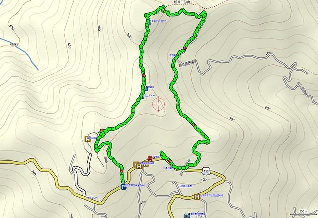 2012-4-29 十份崠古道 map