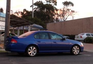 Blue car 234/365