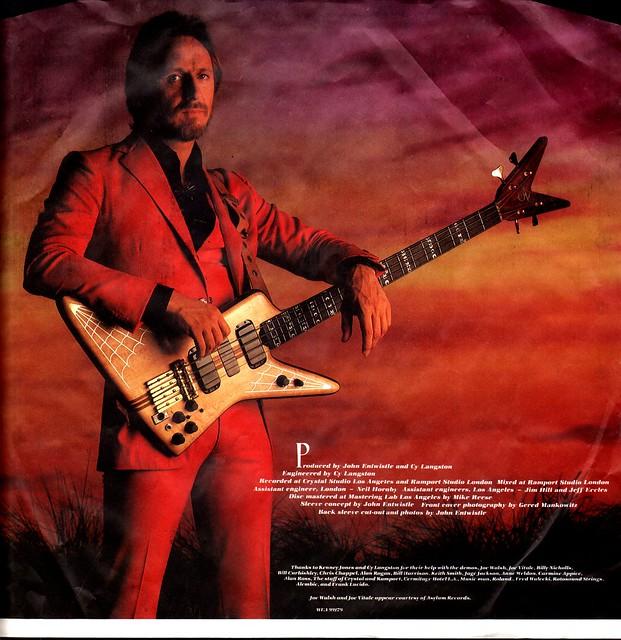 5 - Entwistle, John - Too Late The Hero - D - 1981-