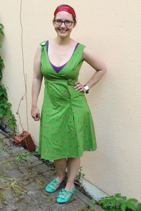 green skunkfunk dress