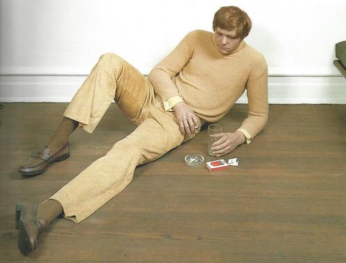 Duane Hanson, Reclining Man Drinking, 1972