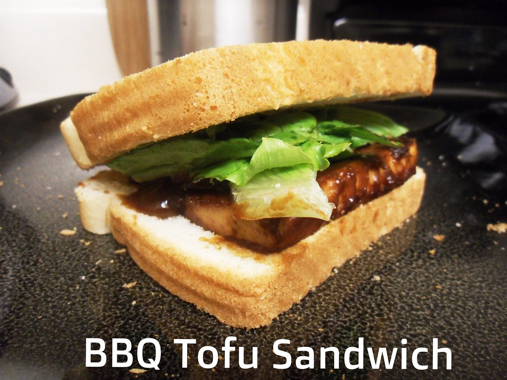 Simple. Easy. Vegetarian!: BBQ Tofu Sandwich