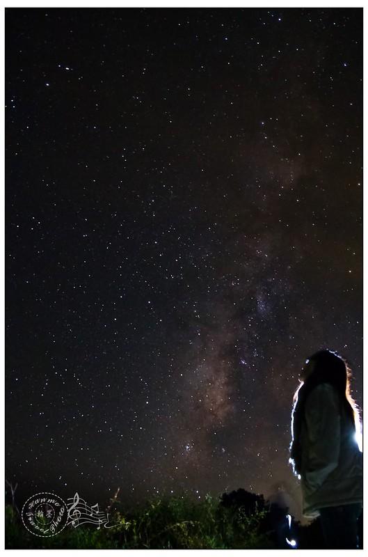 合歡山銀河