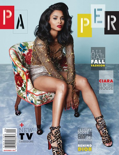 Ciara Paper Magazine September 2013 issue