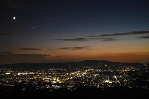 autumn sunset japan night cloudy september getty nara crazyshin 奈良 2013 若草山 dp2m sigmadp2merrill 20130909sdi5629 9723053554