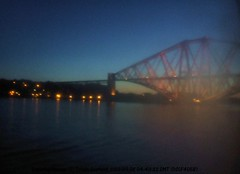 Forth rail bridge early morning