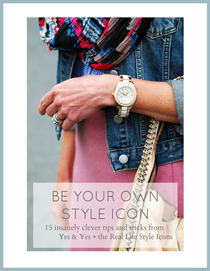 Yes & Yes - Be Your Own Style Icon e-Book