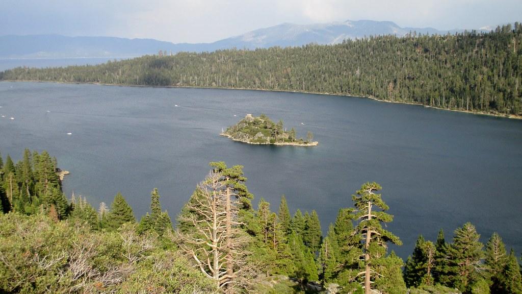 Emerald Bay And Fannette Island At Lake Tahoe El Dorado C Flickr