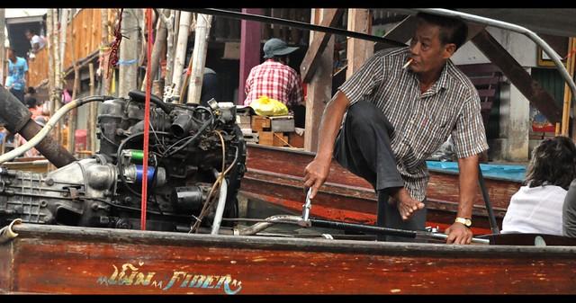 Water market ((Bangkok, Thailand)