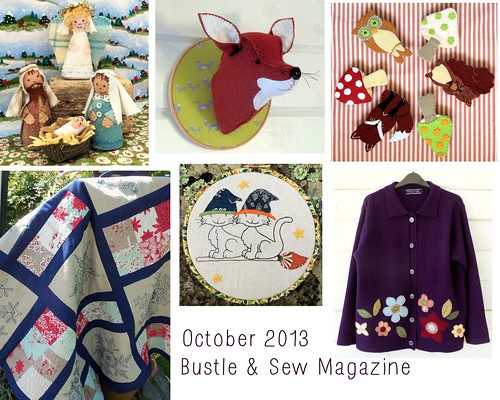 October 2013 Bustle & Sew Magazine