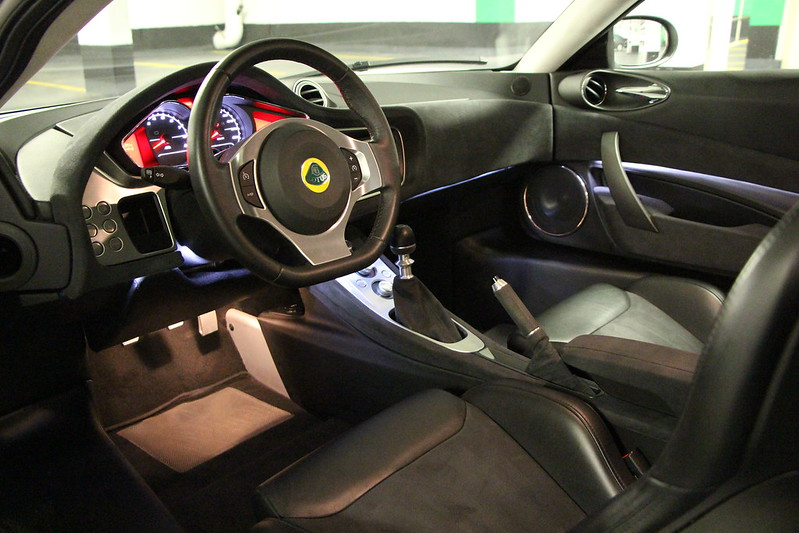 The Only Thing Iu0027d Possibly Change On The Evora Is The Interior Door Latch.  If That Was Made Of Aluminim Itu0027d Be Nice, But Other Than That I Really  Have No ...