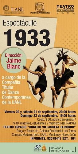 Espectáculo 1933