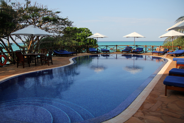 Pool area at Ras Nungwi