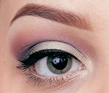 Get the Look with Stila's In the Garden - eye open