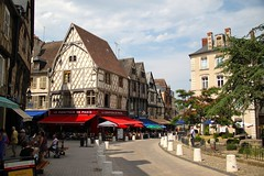 Old Town Street Scene in Bourges
