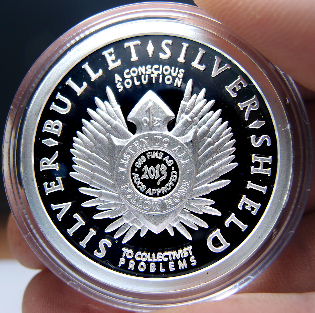 """Colección de onzas de plata """" Silver Bullets & Silver Shield"""" 10174089425_8853b08b2a_b"""