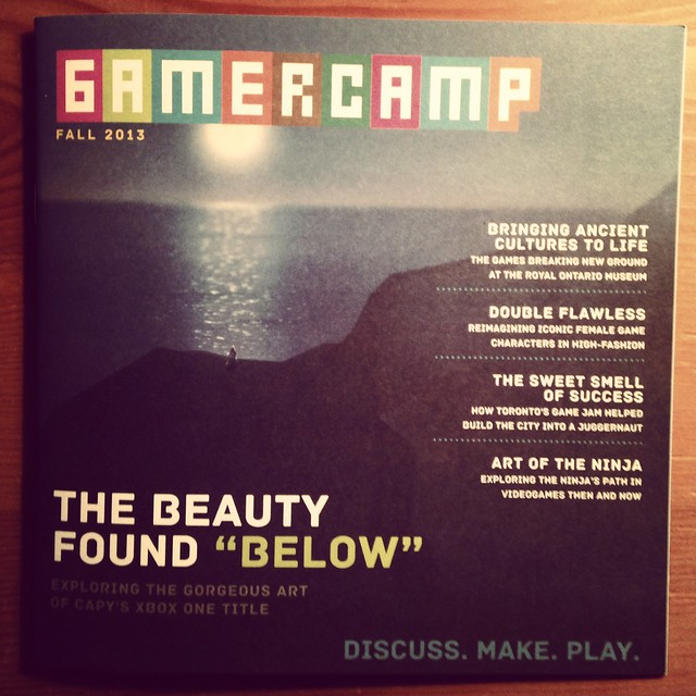 Gamercamp Mag - Below