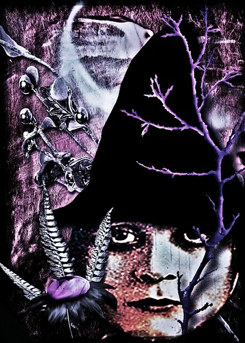 Midnight Witch...version 2 by ann divelbiss