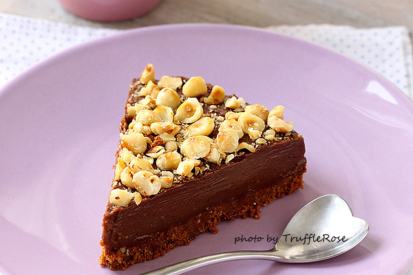Chocolate hazelnut cheesecake 巧克力榛果起司蛋糕-20131030