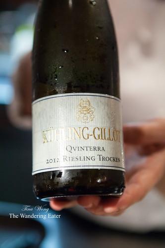 """Xuhling-Gillot """"Qvinterra"""" 2012 Riesling Trocken"""