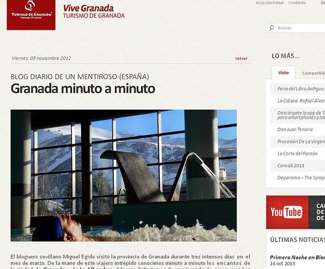 Blog de Viajes Diario de un Mentiroso en Turismo de Granada