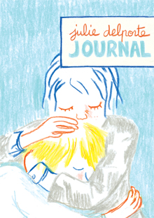 The cover of Journal shows two people hugging