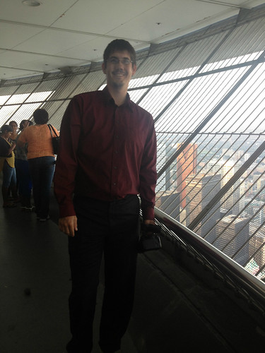 Mike At The CN Tower