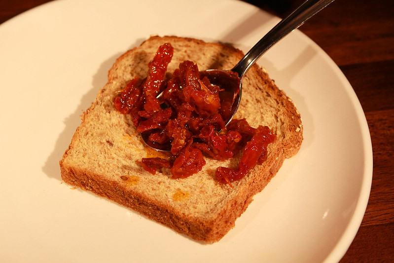 Sun-dried Tomato Sandwich Prep